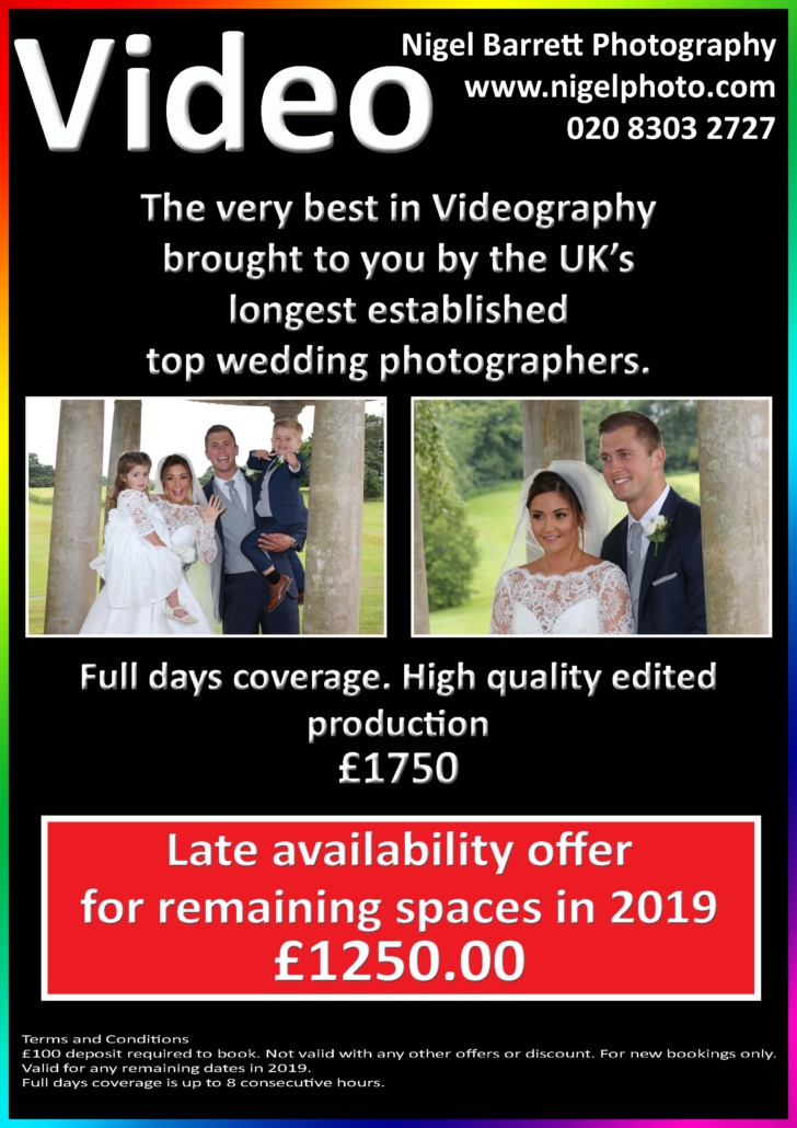 Wedding Photography Packages – Nigel Barrett Photography